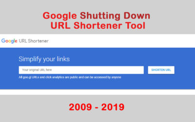 Google Shutting Down goo.gl URL Shortener – Google Updates