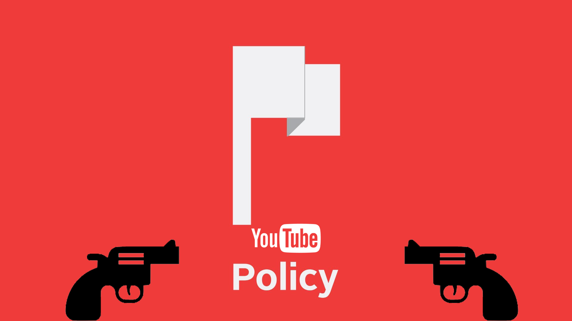 YouTube Policy Update Ban On Firearm