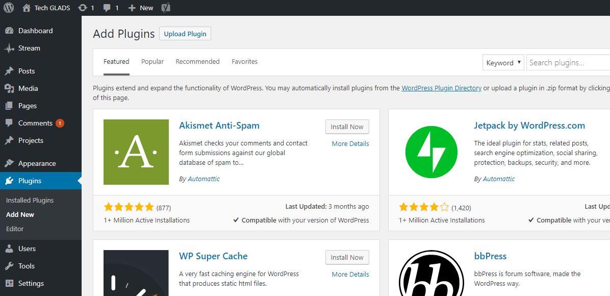 Importance of Updating WordPress Plugins & Themes - Tech GLA