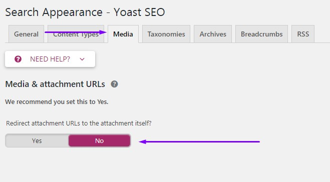Attachment URL - Yoast SEO Plugin 7.0 Bug