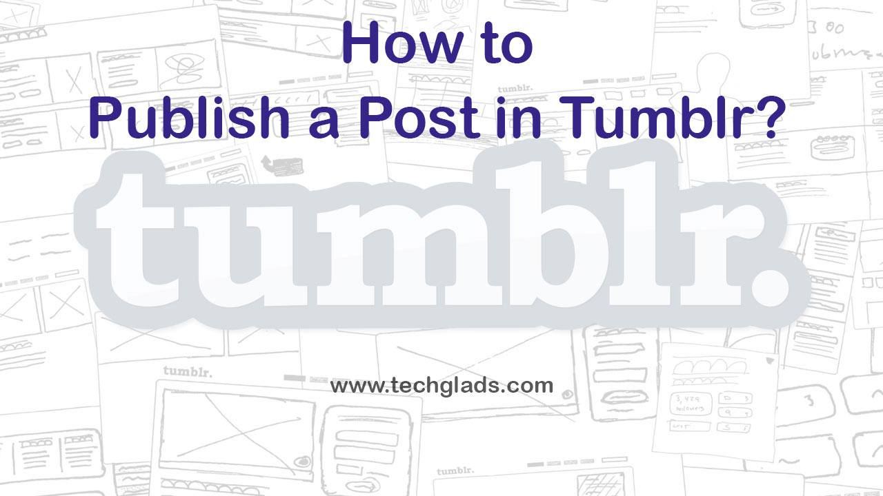 publish a post in tumblr