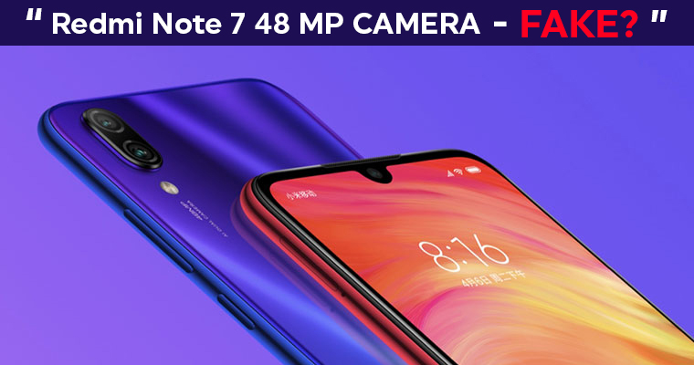 Xiaomi Redmi Note 7 Review – 48 MP Camera – Is it FAKE? | TG