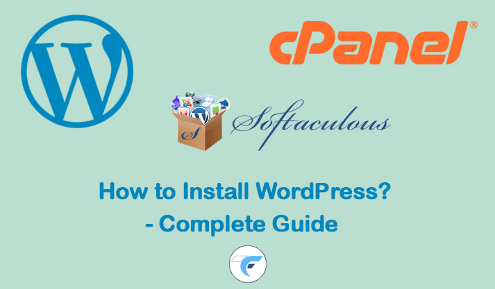 install wordpress using cpanel or softaculous