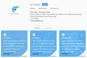 Drive traffic to website from instagram - techglads