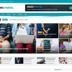 News Portal - Free WordPress Themes for Blogs - Bloggers