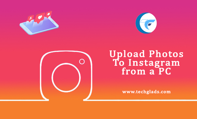 how to upload photos to Instagram from a PC