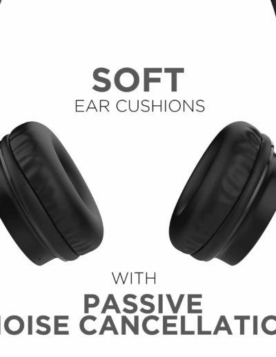 Boat Rockerz 400 On-Ear Bluetooth Headphones-Noise Cancellation