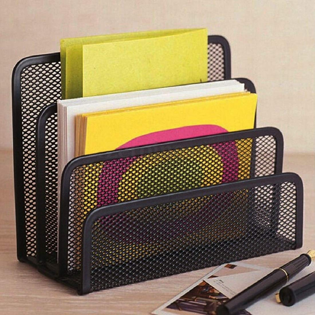 Metal Book Holder - Office Desk Accessories