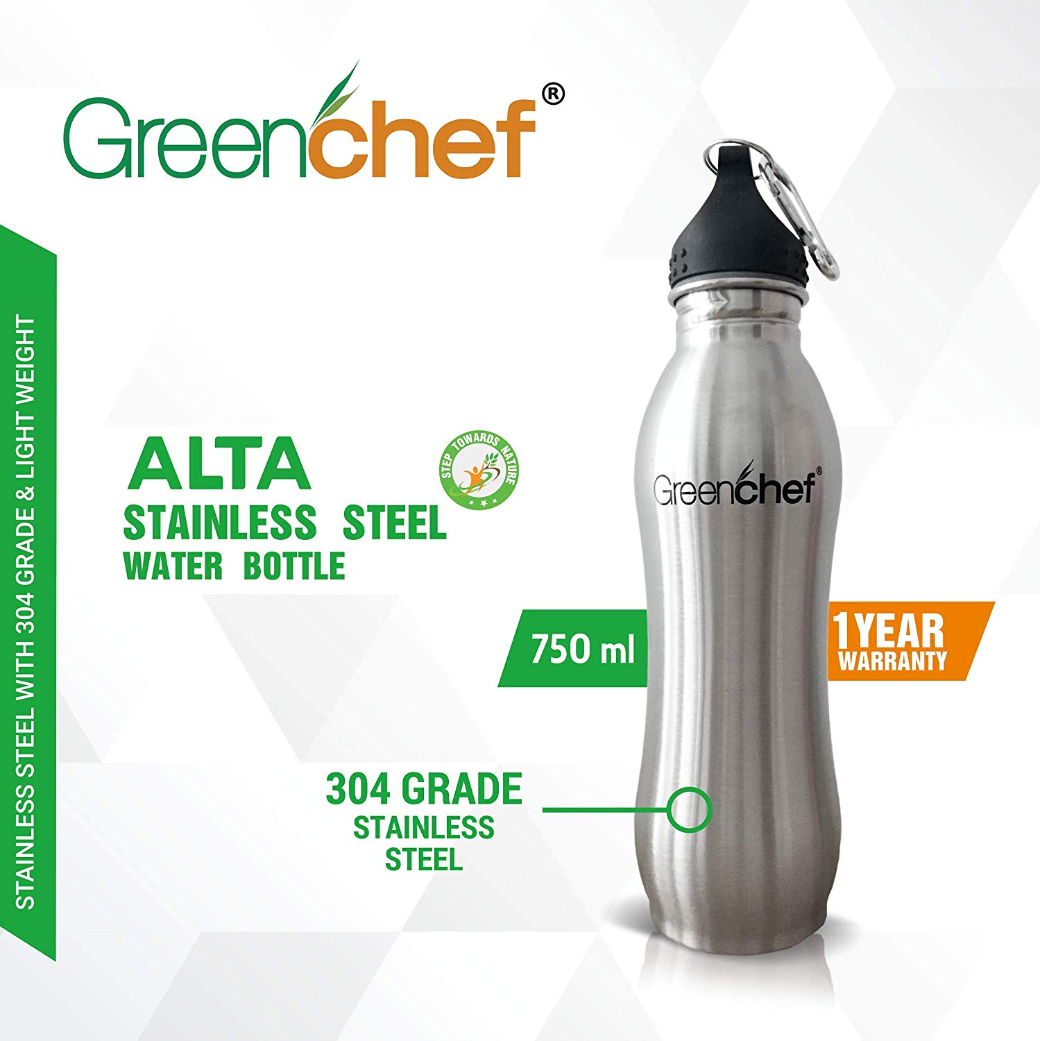 Stainless Steel Water Bottle for office