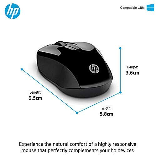 HP 3ML04AA Wireless Keyboard and Mouse Combo - Mouse