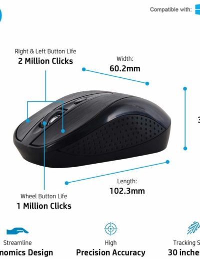 HP Multimedia Slim Wireless Mouse