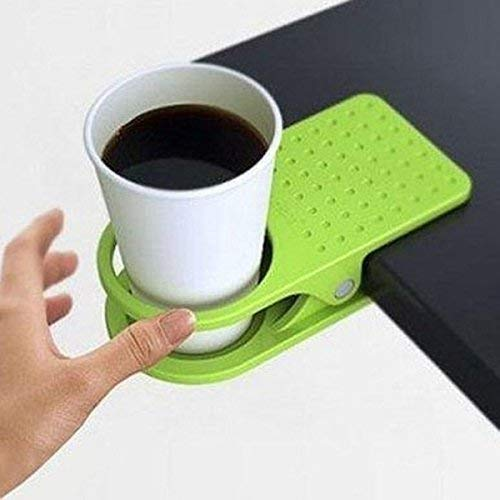 Office Desk Table Clip Drink Cup