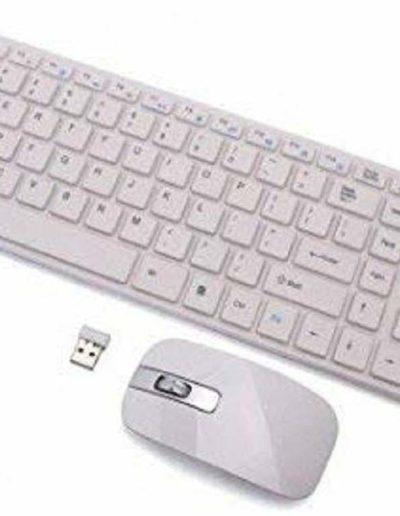 Mix Cart Ultra Thin Fashion 2.4G Wireless Keyboard & Mouse Combo Kit