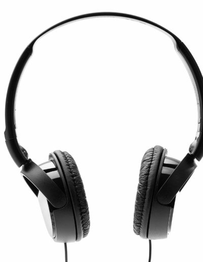 Sony MDR-ZX110 On-Ear Stereo Headphones - Easy Portability