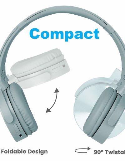 Zebronics Zeb-Smart Plus Wireless Headphone with Voice Assistant - Stylish Design