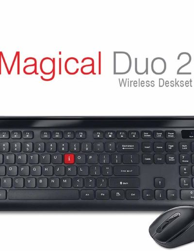 iBall Magical Duo 2 Wireless Deskset - Keyboard