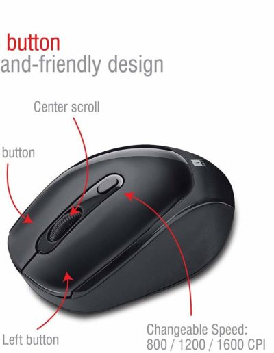 iBall Magical Duo 2 Wireless Deskset - Mouse